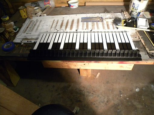 Custom Made Keyboard Shelf