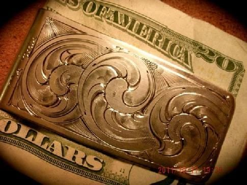 Custom Made Hinged Money Clips