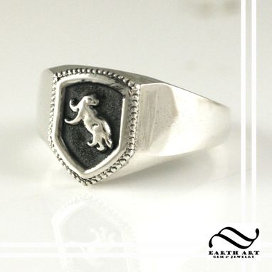 Custom Made Hufflepuff House Ring, Harry Potter Inspired