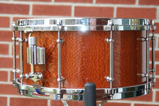 Custom Made Lacewood Snare Drum