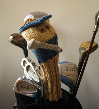 Custom Made Knit Pattern Golfer Golf Club Cover Pdf