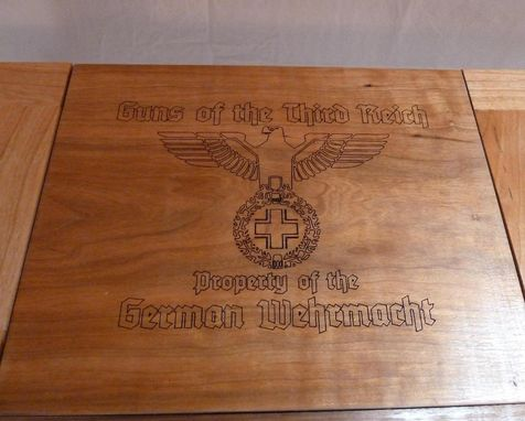 Custom Made Ww2 Handgun/Pistol Display Case