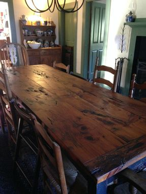 Custom Made Farm Or Harvest Table