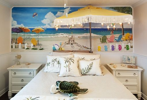 Custom Made Mac's Beach Room Mural