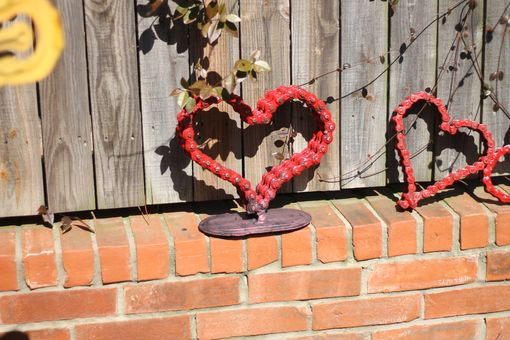 Custom Made Metal Sign Signage Heart Sculpture, Anniversary Wedding Gift Party Decoration