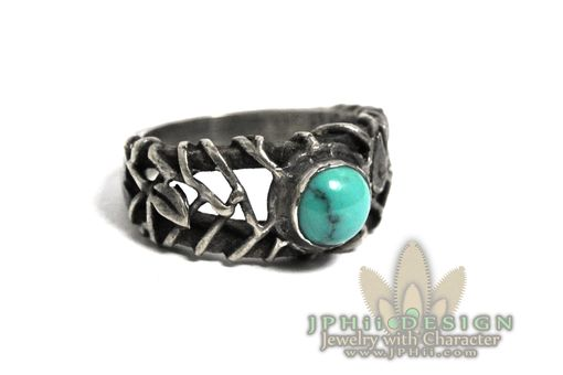 Custom Made Gorgeous Filigree Reclaimed Vine Ring
