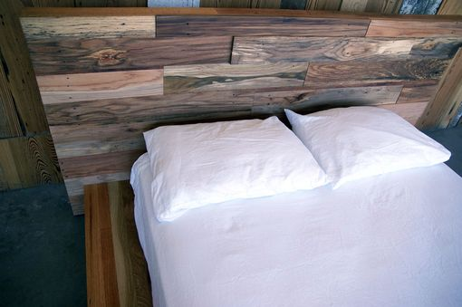 Custom Made Custom Reclaimed Wood Platform Bed
