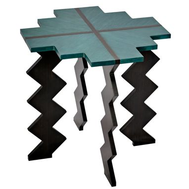 Custom Made Zig Zag Table