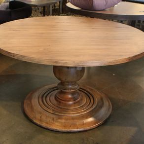 Maximus Round Dining Table 18 Inch Extension