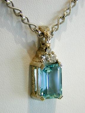 Custom Made Aquamarine Pendant