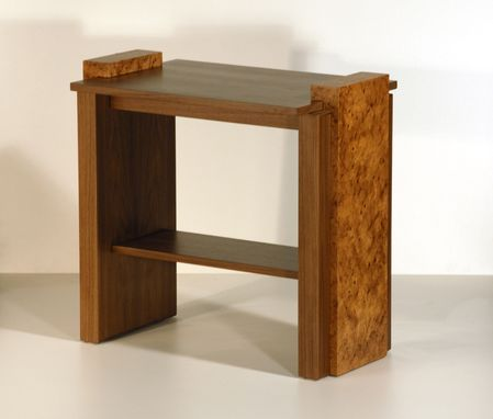Custom Made Contemporary End Table