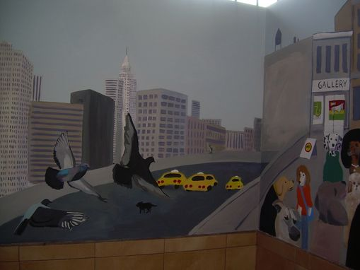 Custom Made Heights Hospital For Animals Murals