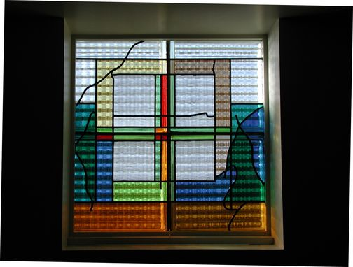 Custom Made Faith Lutheran Aia Award Winning Stained Glass