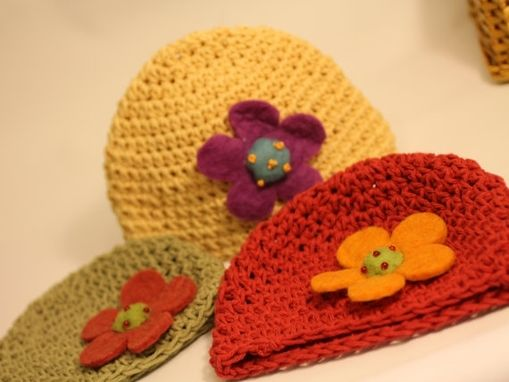 Custom Made Adorable Baby Beanie, Eco Friendly, Photo Prop, Super Soft, Matching Sets Available, Custom Color
