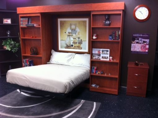 Custom Made Library Murphy Beds