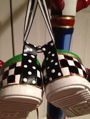 Custom Made Custom Hand Painted Baby Shoes