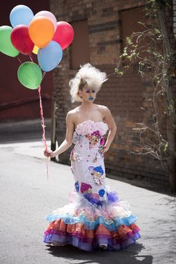 Custom Made Candyland Theme Mermaid Gown