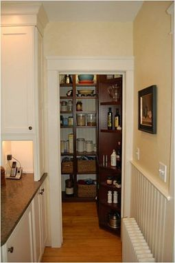 Custom Made Pantry For Tight Spaces