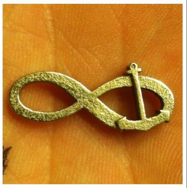 Custom Made Infinity Anchor Pendant