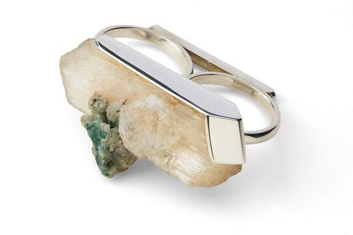Custom Made Apophylite Ring