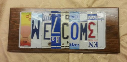 Custom Made Custom License Plate Signs