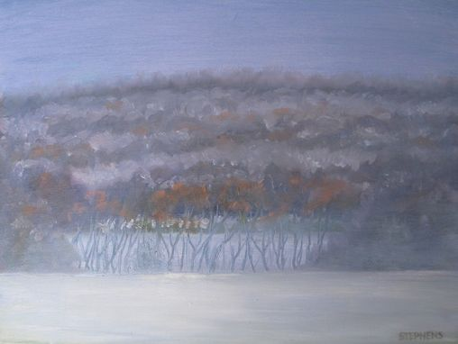Custom Made Art, Painting (October Snow)