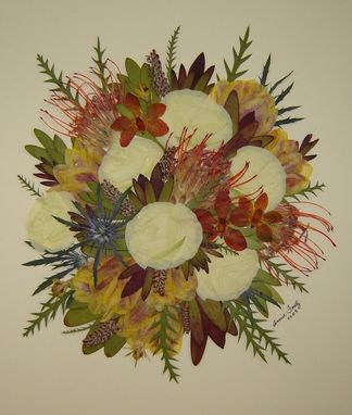 Custom Made Floral Preservation ~ Bridal Bouquet