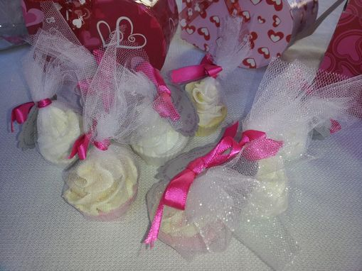 Custom Made Cupcake Party Soap Favors