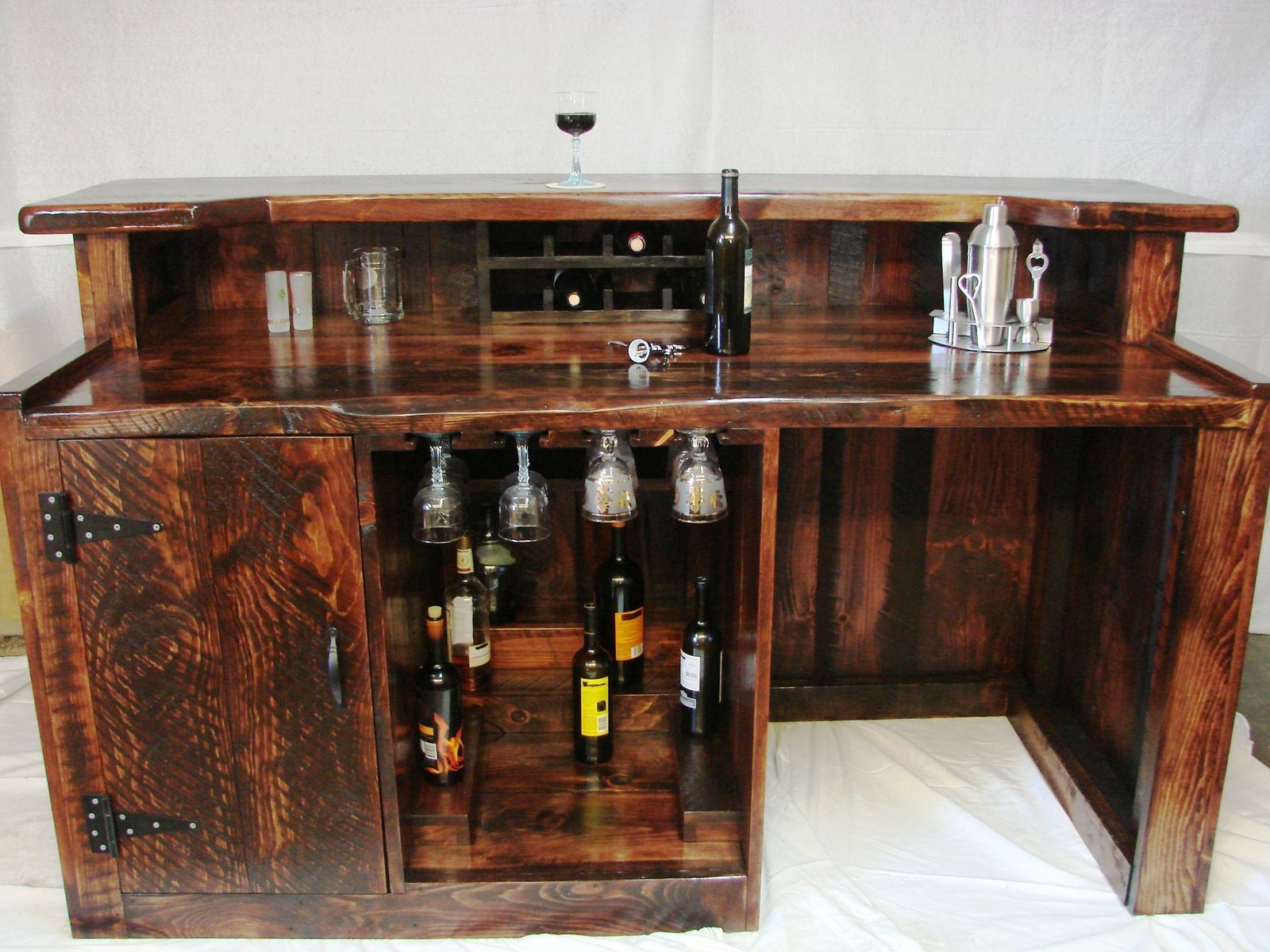 Custom Mini Bar by Windfall Cove Custom Furniture & Photography Llc ...