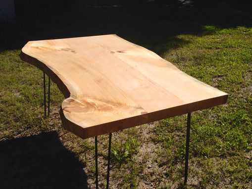 Custom Made Live Edge Dinning Room Table