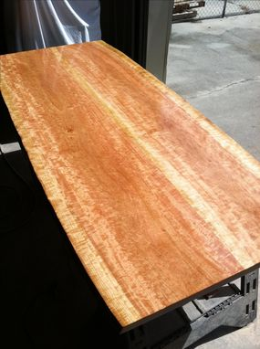 Custom Made Live Edge Cherry Dinning Table
