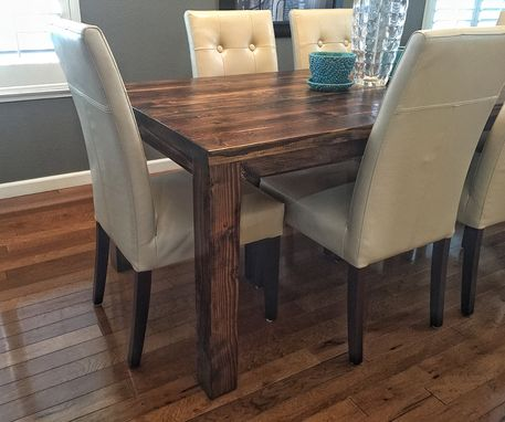 Custom Made Country Table (Shown In Aged Walnut)