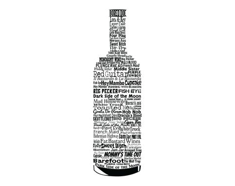 Custom Made Sb-W-Typ (Wine Typography)