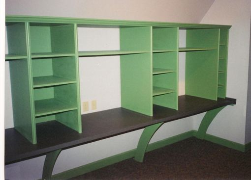 Custom Made Children's Work Shelf