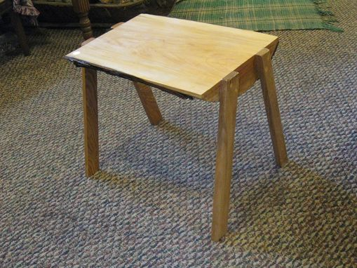 Custom Made End Table, Lamp Table.