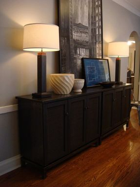 Custom Made Credenza - Steel Industrial Modern