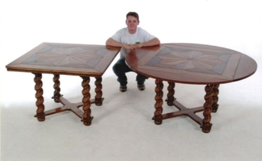 Custom Made #412 Square To Round Dining Table