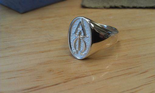 Custom Made Custom Fraternity Monogram Ring