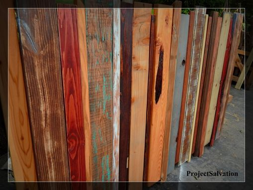 Custom Made Reclaimed Custom Headboard / Barnwood King Headboard