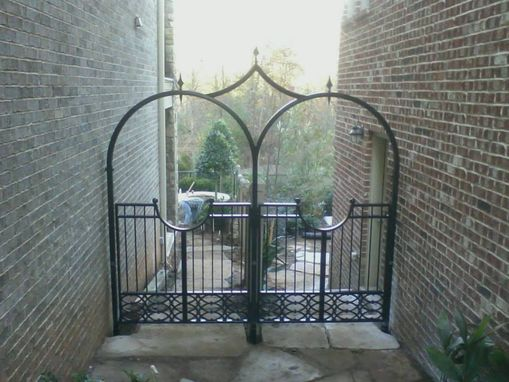 Custom Made Custom Exterior Gates