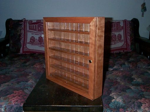 Custom Made Golf Ball Collectors Display Case