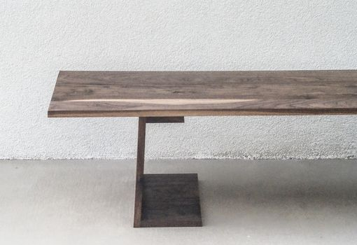 Custom Made Accent Table | Walnut