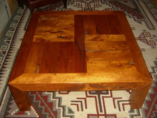 Custom Made Tuscan Mesquite Coffee And End Tables.