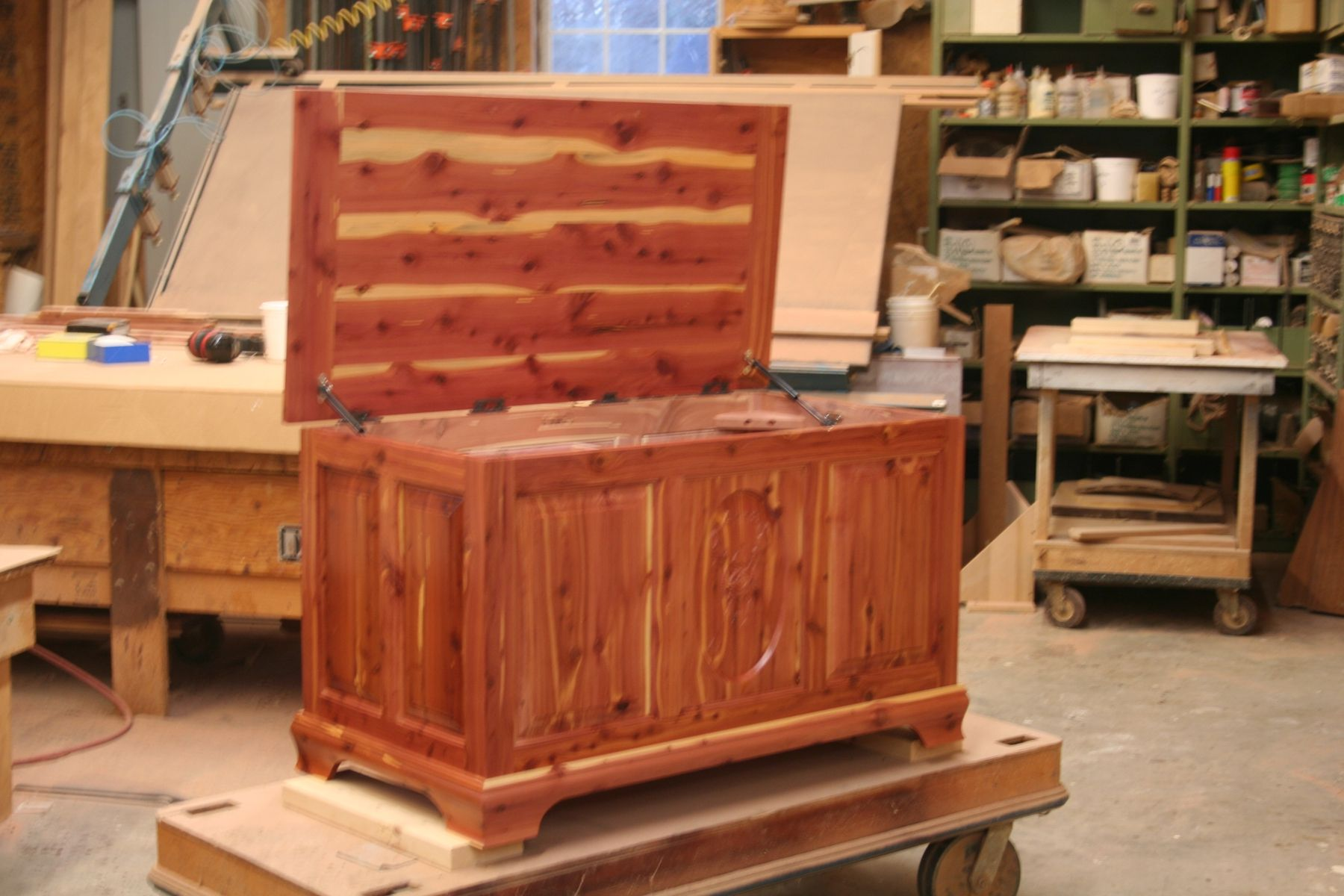 Hope Chests Wooden Handcrafted ~ Custom cedar hope chest by brassfield woodworks inc