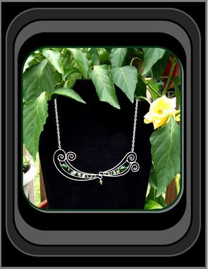 Custom Made Wearable Art, Statement Jewelry, Gem Necklace