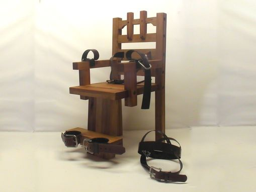 Custom Made Thomas Edison Electric Chair By Nikola Tesla Ac Electricity