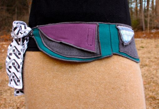 Custom Made Surreal Teal - Utility/Hip Belt - One Size