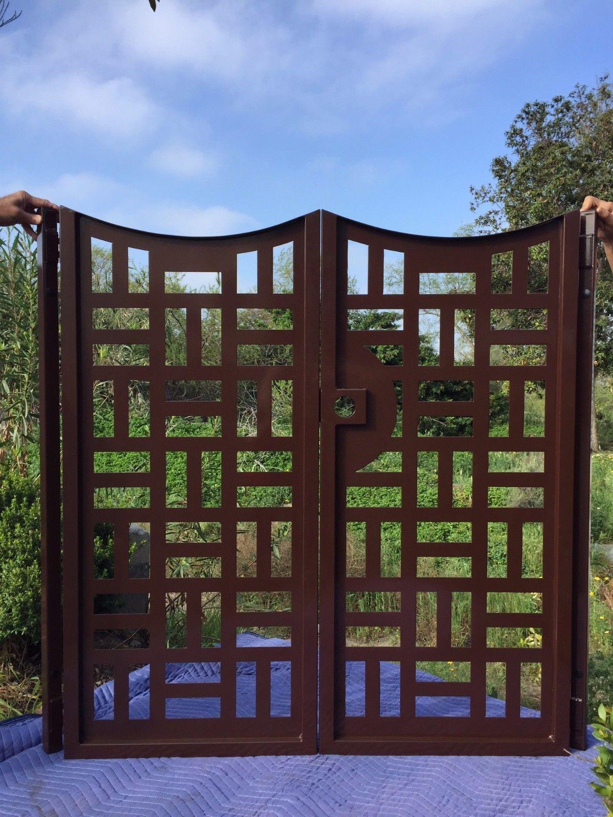 Buy A Handmade Contemporary Metal Gate Custom Dual Entry