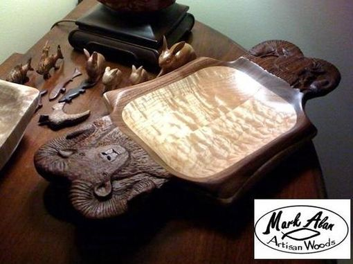 Custom Made Bighorn Platter