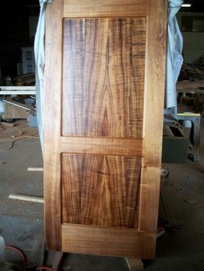 Custom Made Koa Door